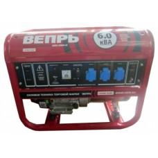 Бензиновый генератор ВЕПРЬ Лайт АБП6-230ВФ-БГ