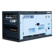 Винтовой компрессор Airman PDS185S дизель