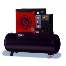 Винтовые маслозаполненные компрессоры с ременным приводом CPM3/8 M 400/50, CPM3/10 M 400/50